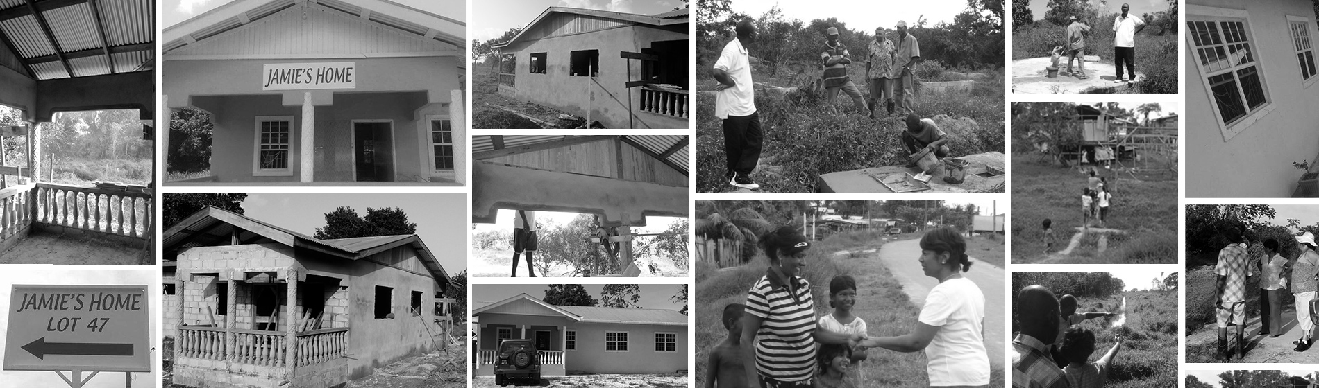 The evolution of Jamie's Home, Jesus in Action's first house in the orphanage