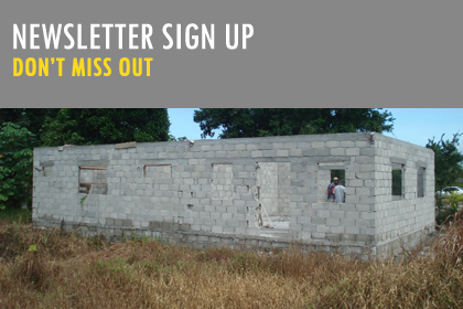Newsletter sign up, don't miss out